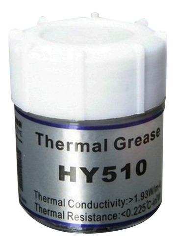 pasta térmica alta estabilidad y fiabilidad 10g hy510