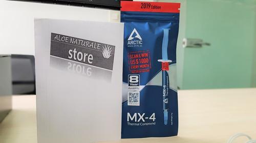 pasta térmica arctic mx-4 pc laptop gpu fan cooler disipador