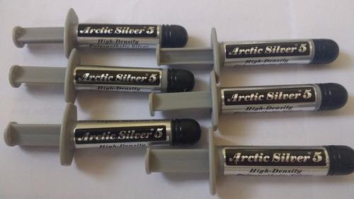 pasta termica arctic silver 5 3.5gr disipadora de calor cpu