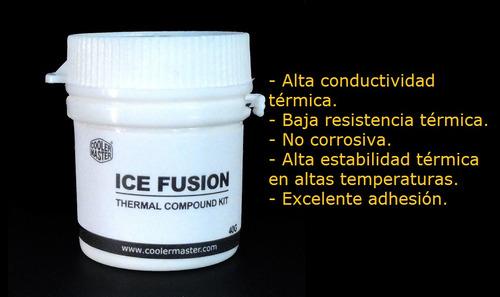 pasta termica cooler master icefusion bote 40g puebla
