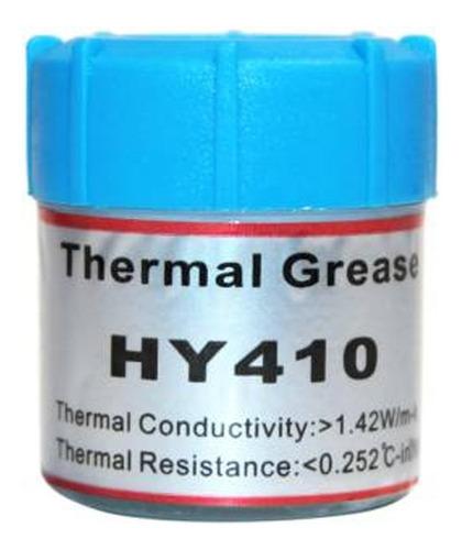 pasta termica disipadora 10g, hy410, blanca  factura/ boleta