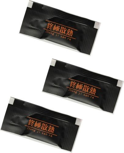 pasta termica gris  para procesador intel amd kit 10