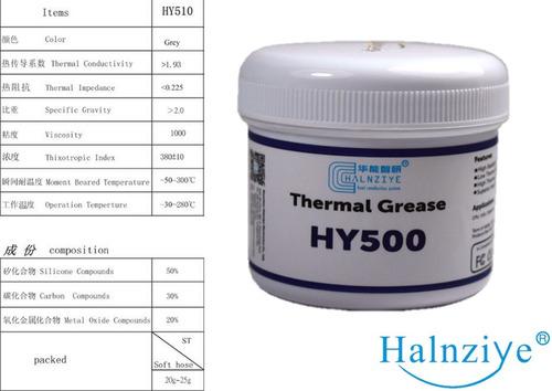 pasta térmica halnziye hy500 gris 100g