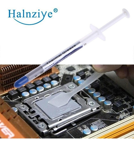 pasta térmica para procesador/cpu hy510 halnziye