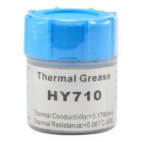 Pasta Térmica Thermal Grease 10g Prata Halnziye Hy710 M5