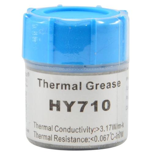 pasta térmica thermal grease 10g prata halnziye hy710 mr