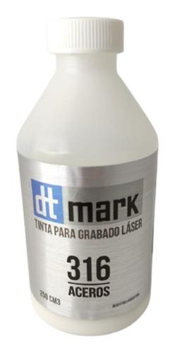 pasta tinta dtmark 250cc grabado láser metales envío rápido