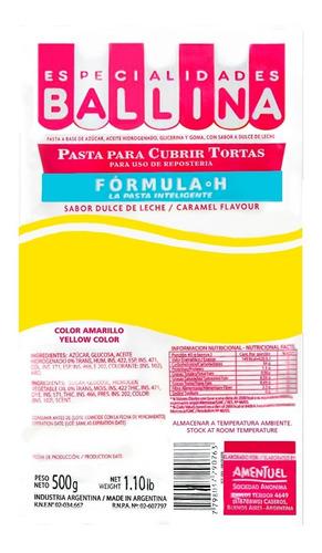 pasta torta ballina amarilla 500 g -ciudad cotillón - envíos