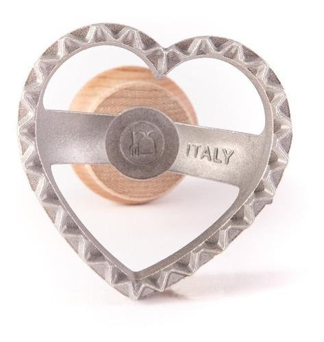 pastalinda sello corazon 45x45 aluminio ravioles
