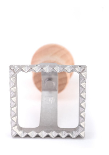pastalinda sello ravioles 40x40 cuadrado aluminio