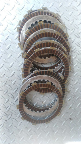 pastas y discos de clutch cbr600 2007 a 2012