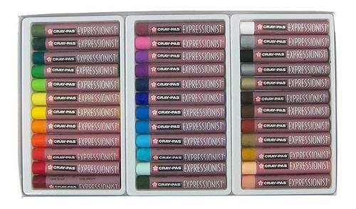 pastel al oleo cray-pas expressionist set 36  - cromarti