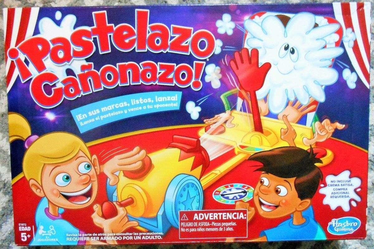 Pastelazo Canonazo Juego De Mesa Hasbro Gaming Original 689 00