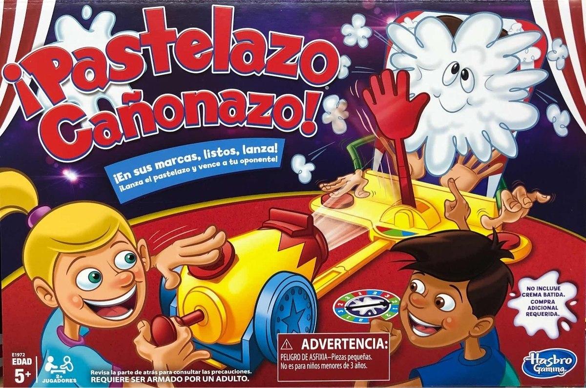 Pastelazo Canonazo Juego De Mesa Nuevo Hasbro Gaming E1972