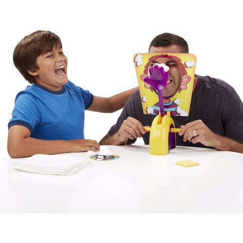 pastelazo tortazo pie face juego de mesa niño y niña