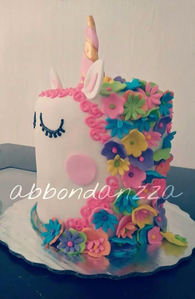 Pasteles De Fondant Unicornio Grande 20 Personas - $ 1,350 ...
