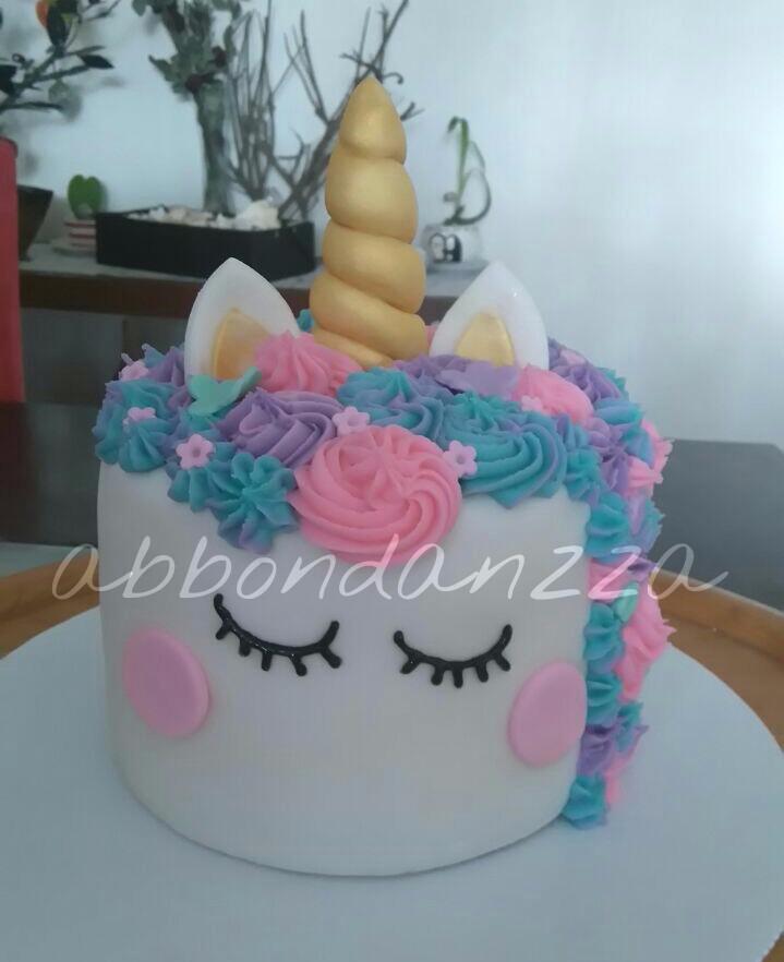 Pasteles De Fondant Unicornio Grande 20 Personas 1 350