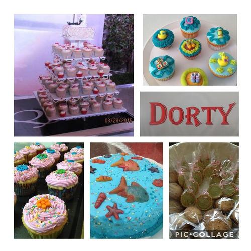 pasteles, gelatinas mesa de dulces para todo evento