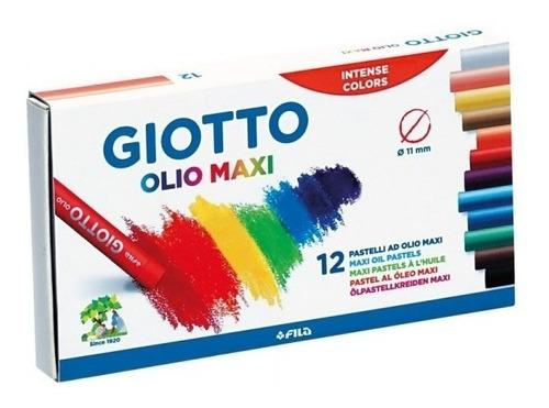 pasteles oleo giotto x 12 colores | escool
