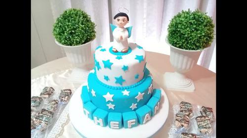 pasteles para bautizo niña o niño quito sur