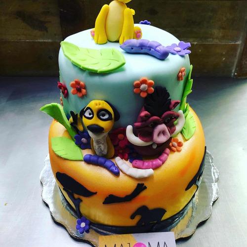 pasteles sobre diseño