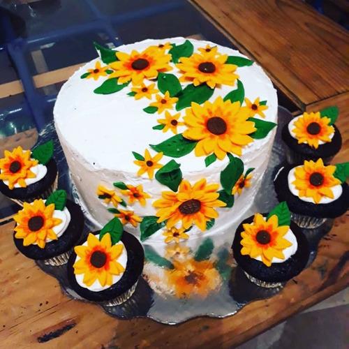 pasteles y cup cakes