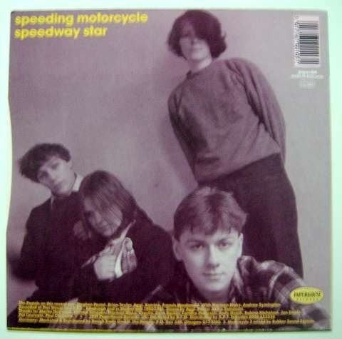 pastels-speeding motorcycle-cd raro importado original