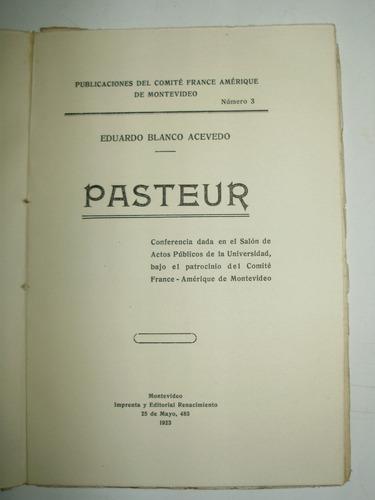 pasteur eduardo blanco acevedo renacimiento uruguay 1923
