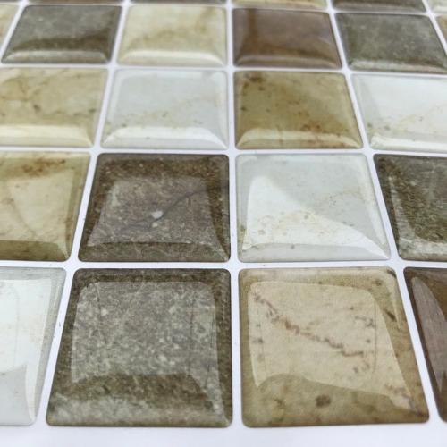 pastilha adesiva resinada granito kit 4 placas