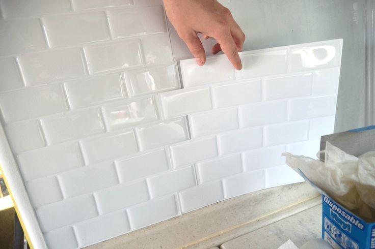 Pastilha Adesiva Resinada Para Banheiro Metro White R
