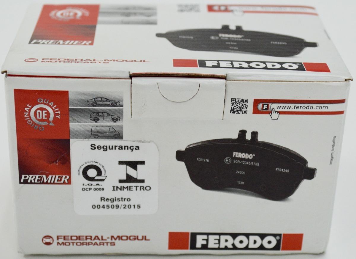 Pastilha De Freio Cer U00e2mica Ferodo Honda Fit 2009 A 2014