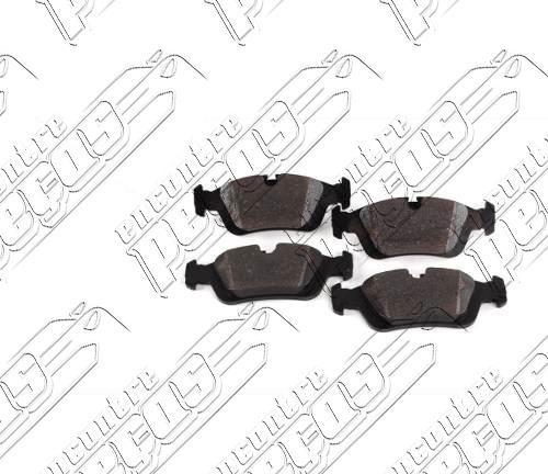 pastilha de freio dianteira bmw série 3 (e46) 328i 98-00