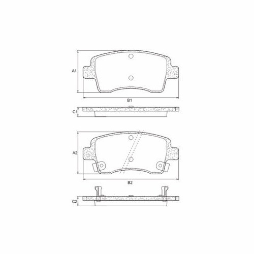 pastilha de freio dianteira etios 13/... frasle pd1438