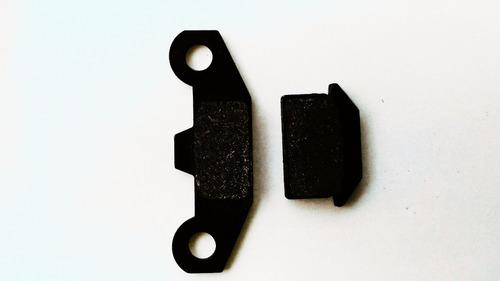 pastilha de freio dianteira para mini moto e quadriciclo 110