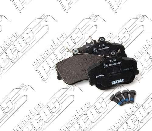 pastilha de freio dianteira + sensor mercedes c280 1993-2000