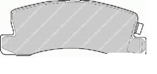pastilha de freio dianteira toyota camry - 6045