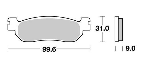 pastilha de freio dianteiro dafra zig 125 ano 2009 em diante