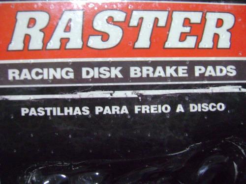 pastilha de freio dianteiro raster bmw s1000 rr - cada lado