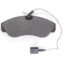 pastilha de freio ducato aro 16 c/sensor syl s1199