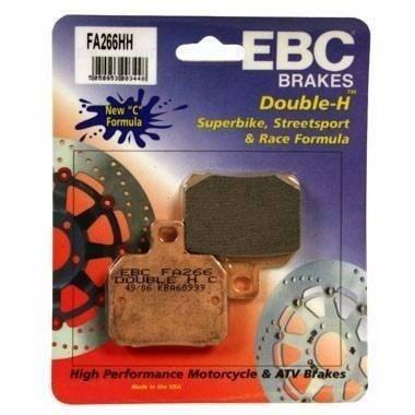 pastilha de freio ebc brakes fa266hh - multistrada 1100/1200