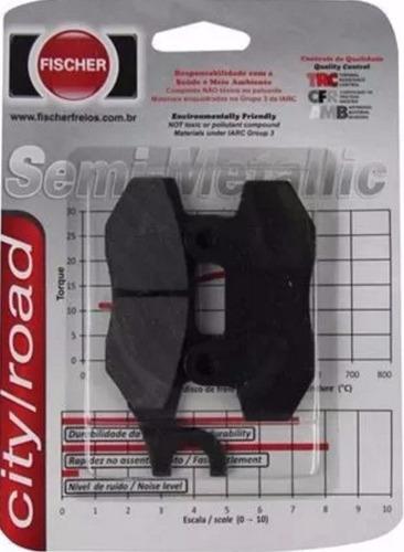 pastilha de freio fischer fj2080 - vblade 250