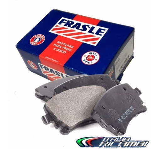 pastilha de freio frasle - doblo idea strada palio punto
