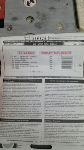 pastilha de freio pra harley davidson 883