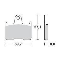 pastilha de freio suzuki gsf 650 bandit anos 2005 a 2008