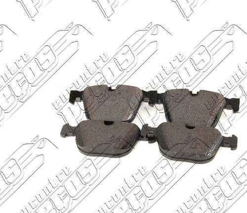 pastilha de freio traseira bmw série 6 (e63) m6 05-10