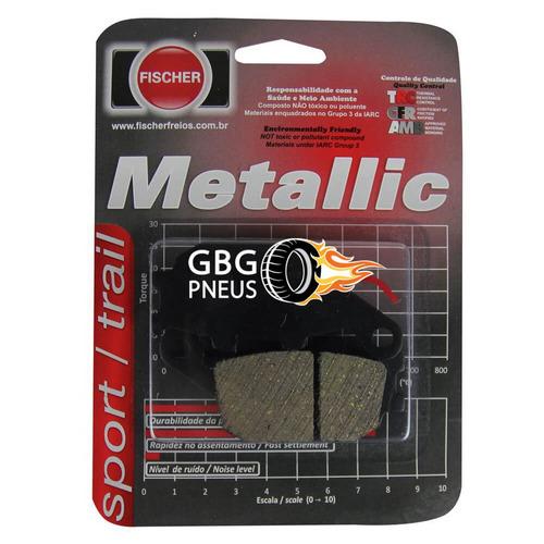 pastilha de freio traseira cb 300r/xre 300 com abs gbg pneus