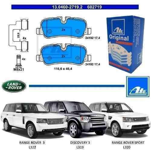 pastilha de freio traseira discovery 3 2009 l319 original