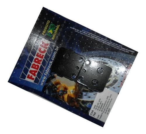 pastilha de freio traseira yamaha yfm 250 raptor ano 2009/..