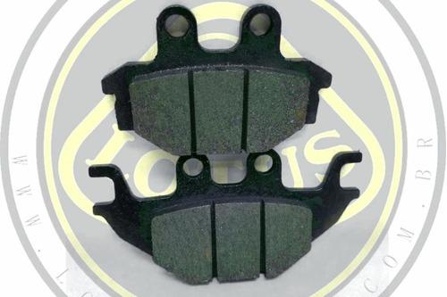pastilha de freio traseiro dafra next 250 300 original 60445