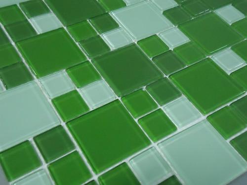pastilha de vidro - cristal - mutação - varias cores!!